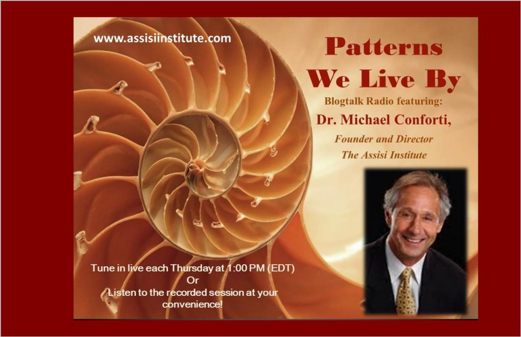Assisi Institute-Patterns We Live by Jungian and Depth Psychology Radio with Dr. Michael Conforti