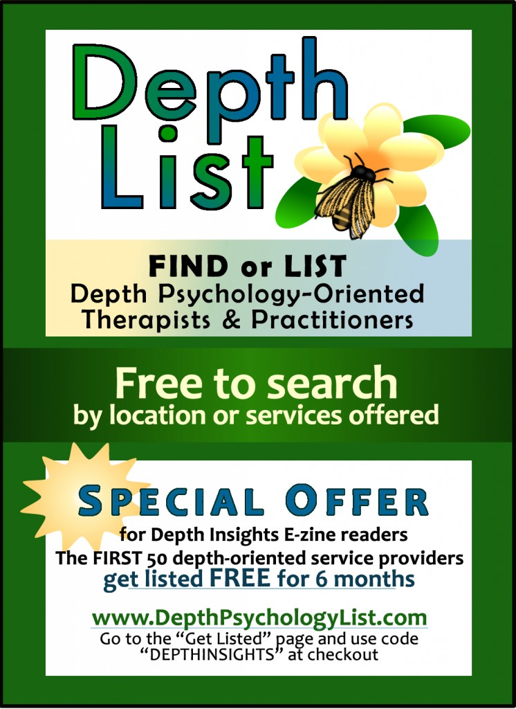 Depth Psychology List -- Find or List Depth Oriented Psychotherapists and practitioners