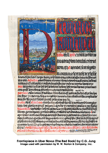 Frontispiece in Liber Novus (The Red Book)