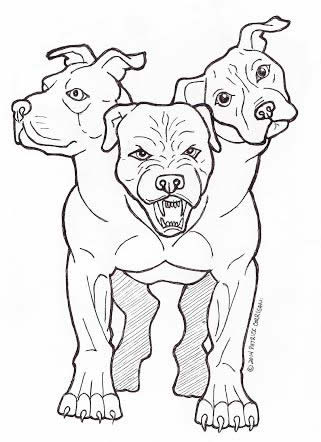 American Cerberus Meditations On Pit Bulls And The Underworld By