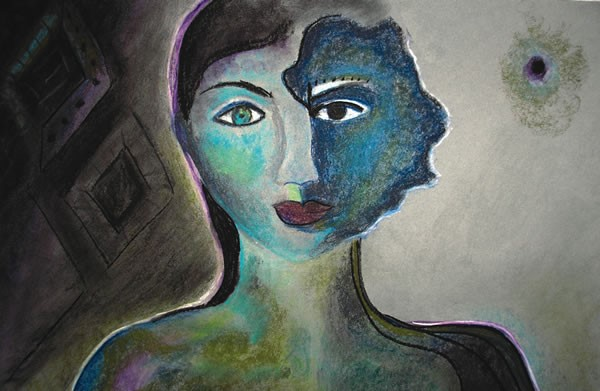 Soul Alchemy by Tina Azarea Colored Pencil, 2009