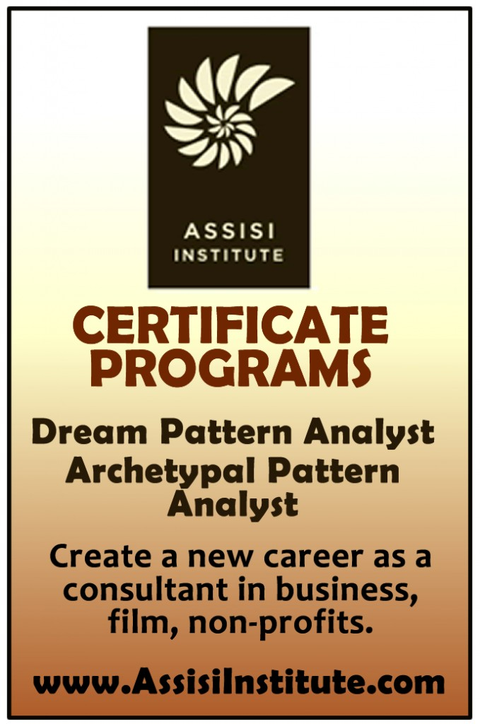 assisi-institute dream patterning and archetypal certificate programs