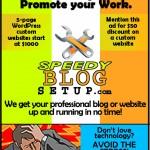 speedy blog setup ad