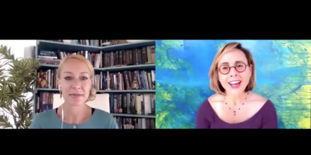 Bonnie Bright PhD interviewed by Olga Ferreras about Transpersonal Coaching Psychology