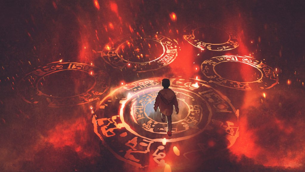 Shamanic initiation - archetypal pattern analysis - soul centered coaching